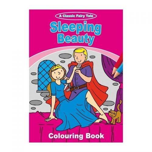 Frumoasa din padurea adormita, carte de colorat (ed. tiparita)