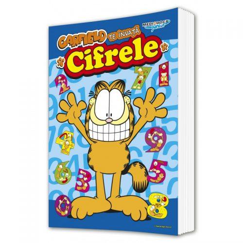 Garfield: Te invata cifrele (ed. tiparita)