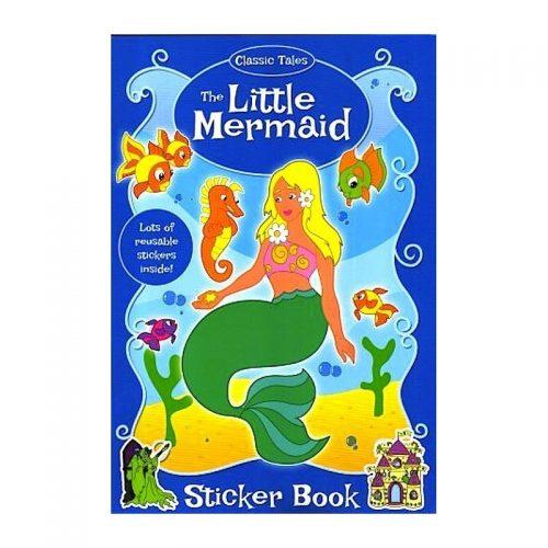 Mica sirena, carte de colorat cu stickere (ed. tiparita)