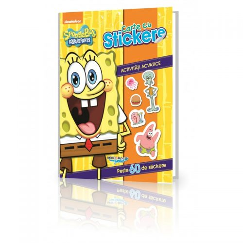 SpongeBob: Sa ne jucam cu stickere (ed. tiparita)