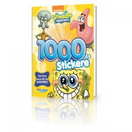 SpongeBob: 1000 Stickere (ed. tiparita)