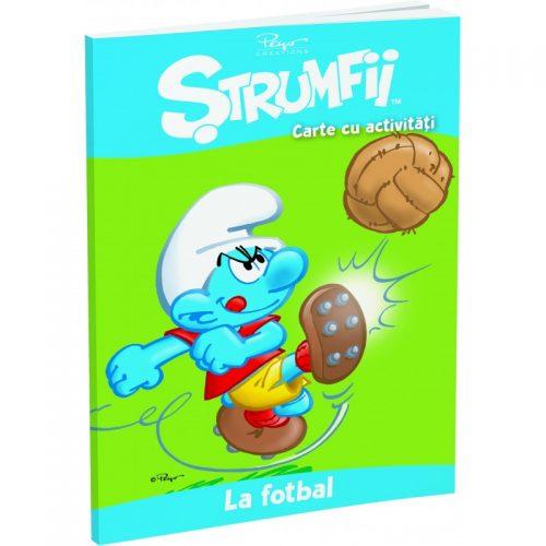Strumfii: La fotbal (ed. tiparita)