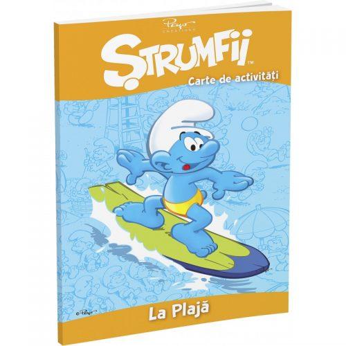 Strumfii: La plaja (ed. tiparita)