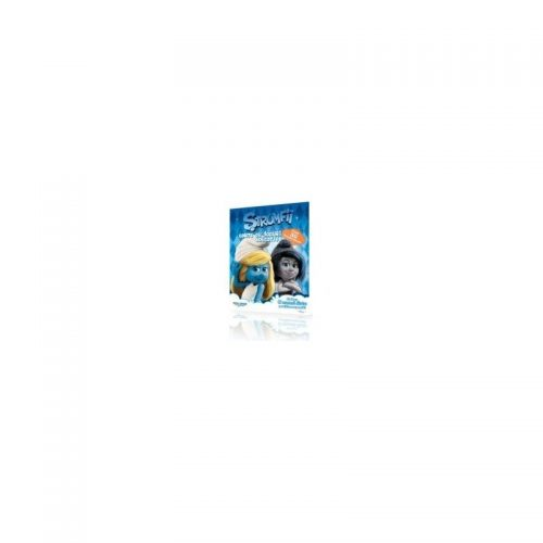 Strumfii: carte cu jocuri educative (ed. tiparita)