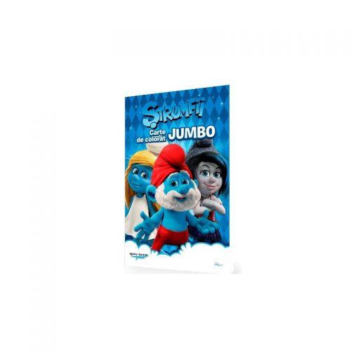 Strumfii: Carte de colorat jumbo, A3 (ed. tiparita)