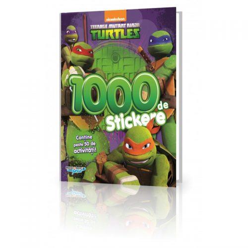 Testoasele Ninja: Carte cu 1000 Stickere (ed. tiparita)