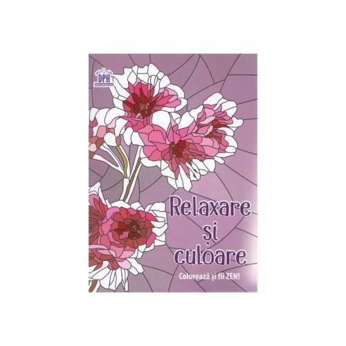 Relaxare si culoare: Coloreaza si fii ZEN (ed. tiparita)