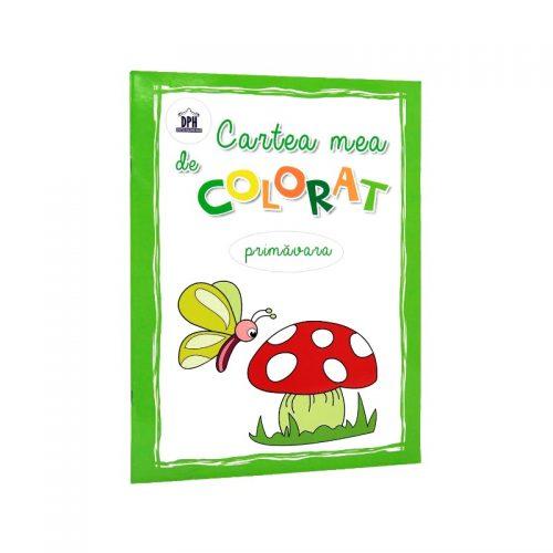 Cartea mea de colorat: Primavara (ed. tiparita)