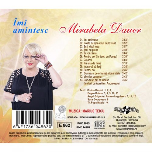 Imi amintesc (CD)