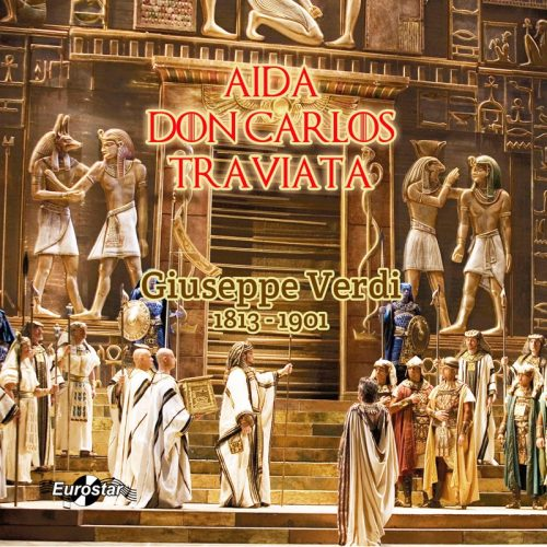 Aida, Don Carlos, Traviata (CD)