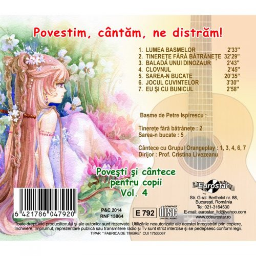Povestim, cantam, ne distram vol.4 (CD)