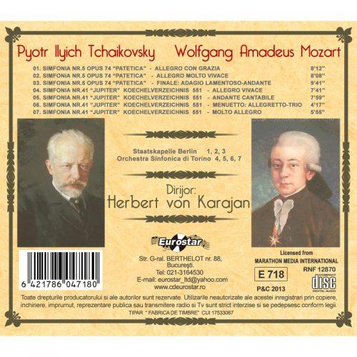 Simfonia nr. 6: Patetica - Simfonia nr. 4: Jupiter (CD)