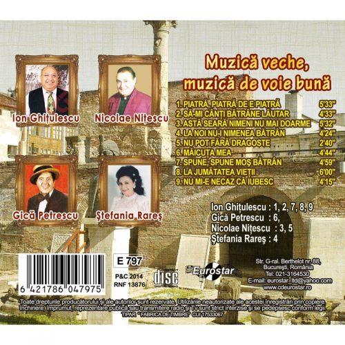 Muzica veche, muzica de voie buna (CD)