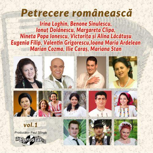 Petrecere romaneasca, vol.1 (CD)