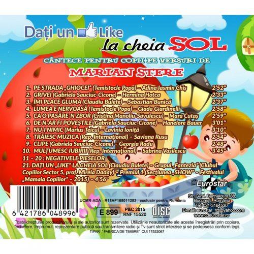 Dati un like la cheia sol (CD)