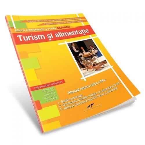 Turism si alimentatie, profil TURISM, manual pentru clasa a X-a (ed. tiparita)