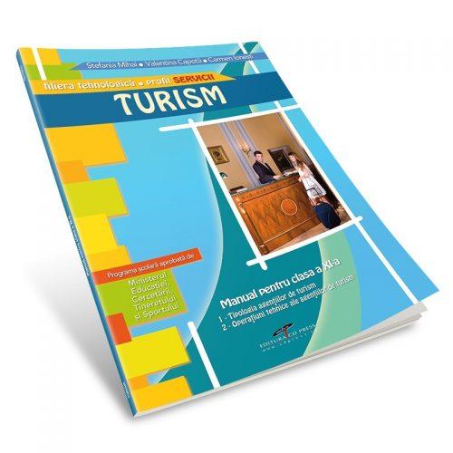 Turism. Profil Servicii. Manual pentru clasa a XI-a (ed. tiparita)