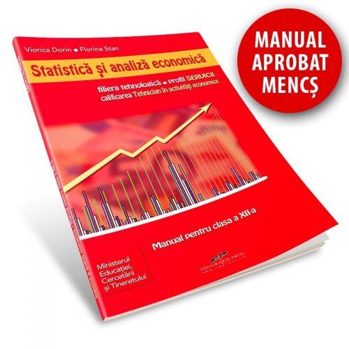 Statistica si analiza economica: Manual pentru clasa a XII-a (ed. tiparita)
