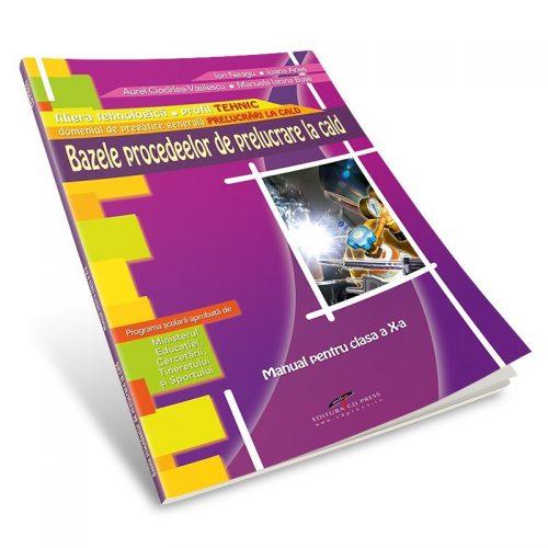 Bazele procedeelor de prelucrare la cald: Manual pentru clasa a X-a (ed. tiparita)