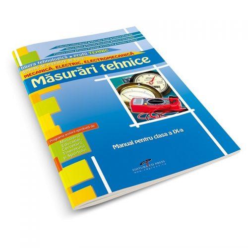 Masurari tehnice: Manual pentru clasa a IX-a (ed. tiparita)