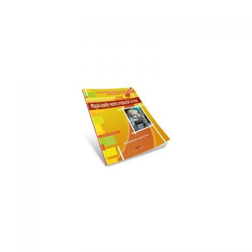 Masini-unelte pentru prelucrari la rece: Manual pentru clasa a X-a (ed. tiparita)