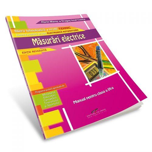 Masurari electrice: Manual pentru clasa a IX-a, editie revizuita (ed. tiparita)
