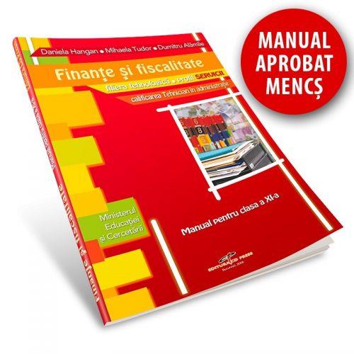 Finante si fiscalitate: Manual pentru clasa a XI-a (ed. tiparita)