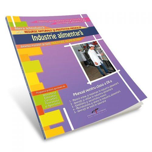 Industria alimentara: Manual pentru cls. a IX-a (ed. tiparita)
