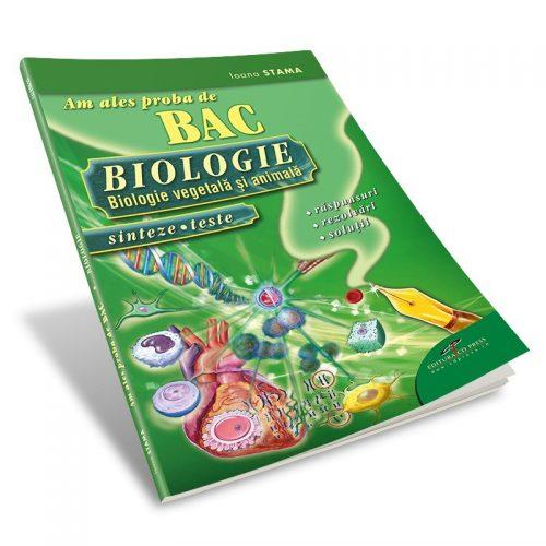 Am ales proba de BAC 2011-2016: Biologie, sinteze, teste (ed. tiparita)