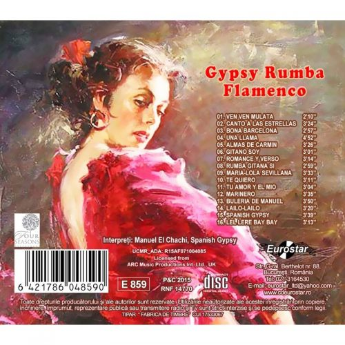 Gypsy, rumba, flamenco (CD)