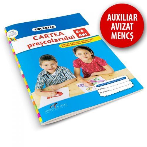 Cartea prescolarului, 5-6 ani (ed. tiparita)