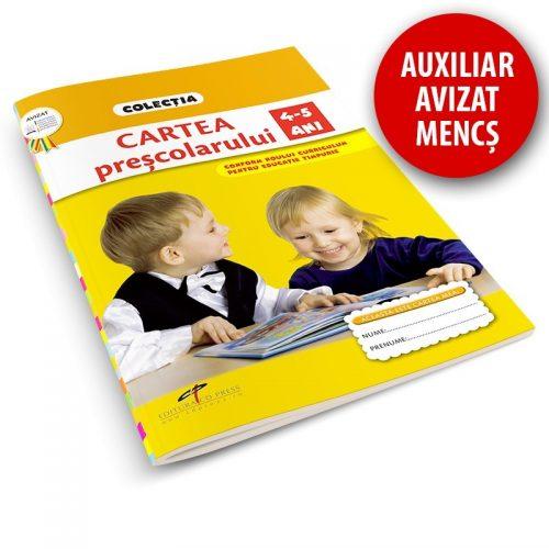 Cartea prescolarului, 4-5 ani (ed. tiparita)