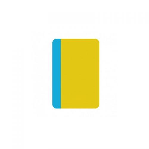 Semne de carte de colorat: Pene (ed. tiparita)