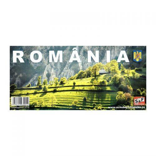 Harta Romaniei (ed. tiparita)