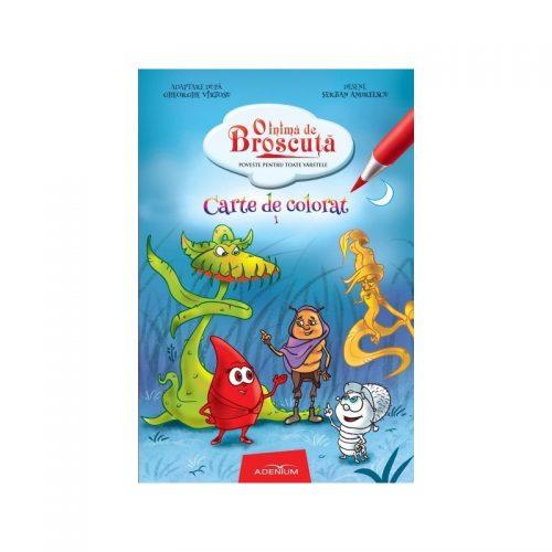 O inima de Broscuta: Carte de colorat, vol. 1 (ed. tiparita)