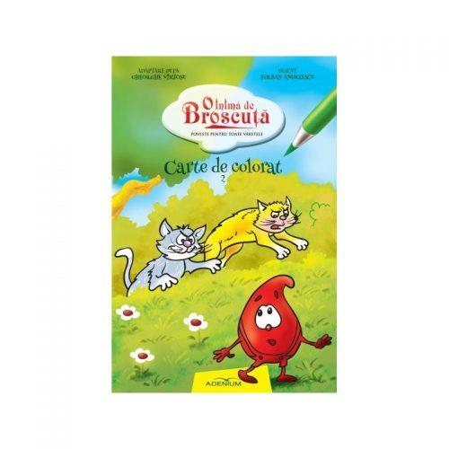 O inima de Broscuta: Carte de colorat, vol. 2 (ed. tiparita)