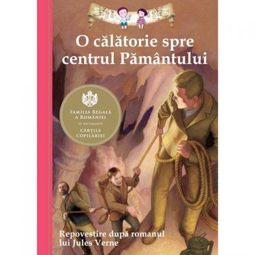 O calatorie spre centrul pamantului (Repovestire de Kathleen Olmstead) (ed. tiparita)