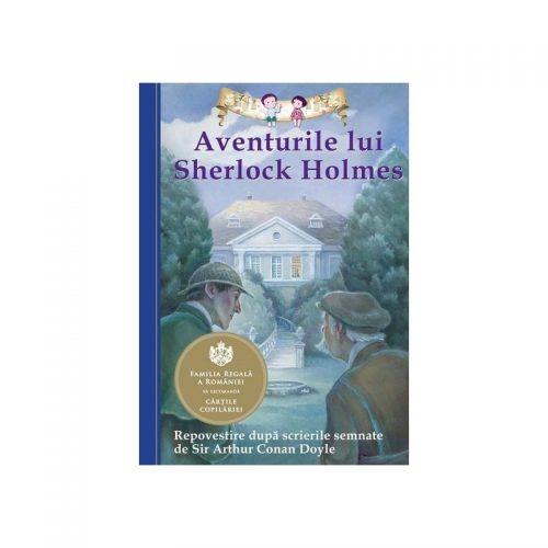 Aventurile lui Sherlock Holmes (repovestire dupa scrierile semnate de Sir Arthur Conan Doyle) (ed. tiparita)