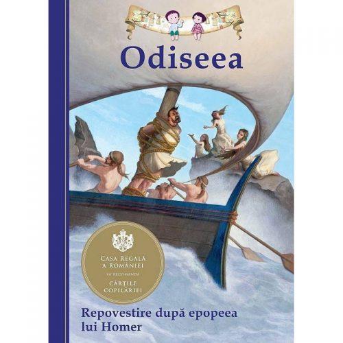 Odiseea (repovestire de Tania Zamorski) (ed. tiparita)