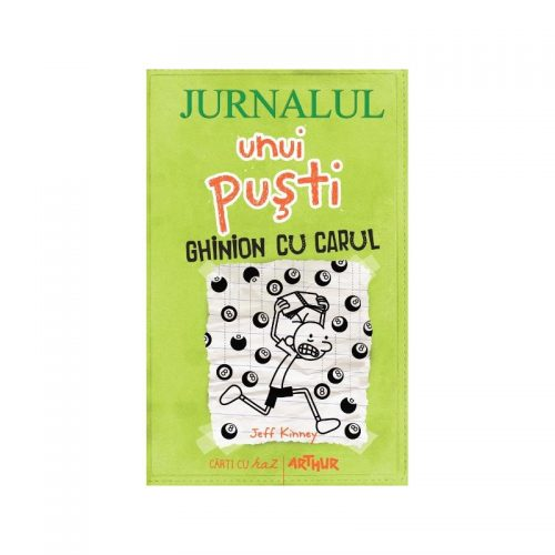 Jurnalul unui pusti: Ghinion cu carul (ed. tiparita)