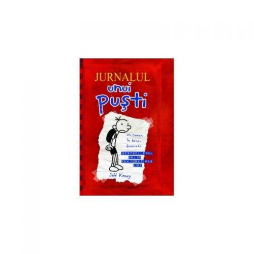 Jurnalul unui pusti: Un roman in benzi desenate (ed. tiparita)
