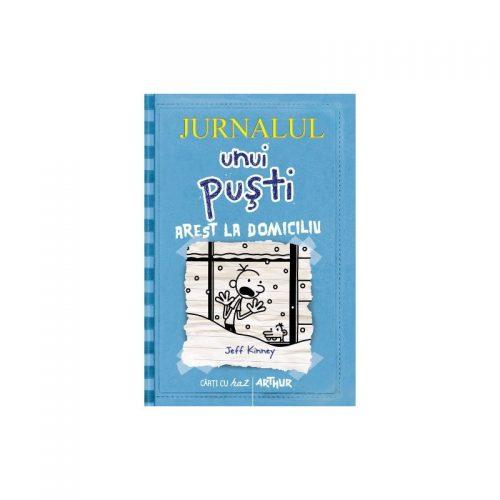 Jurnalul unui pusti: Arest la domiciliu (ed. tiparita)