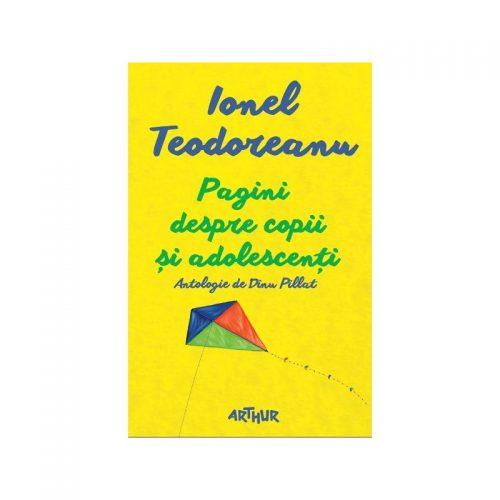 Pagini despre copii si adolescenti: Antologie de Dinu Pillat (ed. tiparita)