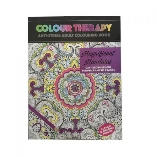 Colour Therapy: Terapie de culoare, carte de colorat pentru adulti, Amazing animals (ed. tiparita)