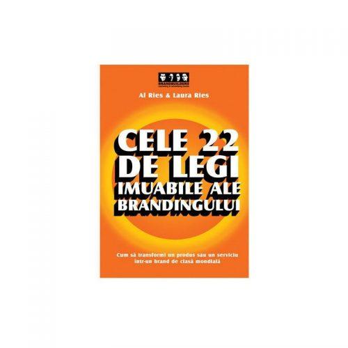 Cele 22 de legi imuabile ale brandingului (second hand)