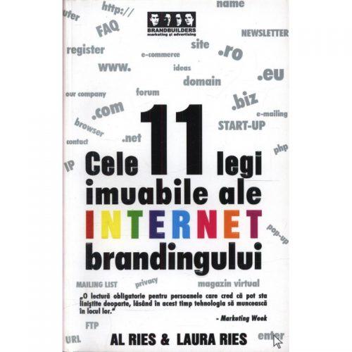 Cele 11 legi imuabile ale internet brandingului (second hand)