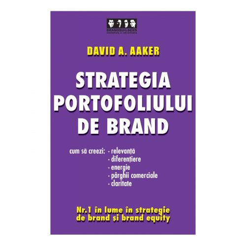 Strategia portofoliului de brand: Cum sa creezi relevanta, diferentiere, energie, parghii comerciale si claritate (second hand)