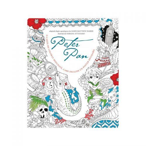 Peter Pan - carte de colorat cu poster (ed. tiparita)