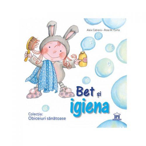 Bet si igiena, carte educativa pentru copii (ed. tiparita)