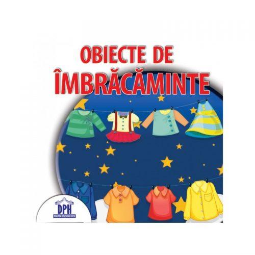 Obiecte de imbracaminte, carte evantai pentru copii 3-6 ani